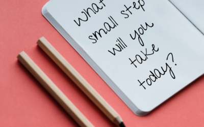 Small step approach to achieving your New Year's Resolution